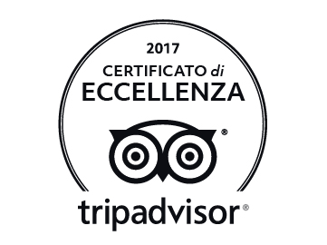 """Certificate of Excellence 2017 Tripadvisor"""
