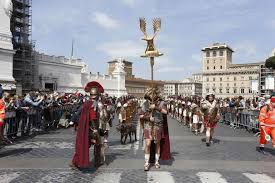Christmas of Rome: April 21 birth of Rome