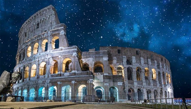 #Rome: Extraordinary nighttime opening at the Colosseum